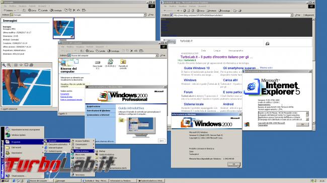 Scaricare Windows 2000 CD/ISO italiano: download diretto ufficiale (edizione Professional Service Pack 4, MSDN) - windows 2000 spotlight