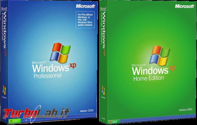 Scaricare Windows XP CD/ISO italiano: download diretto ufficiale