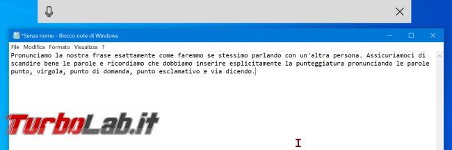 Scrivere voce: come dettare trascrivere testi PC Windows 10 - zShotVM_1589114515