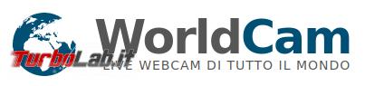 Sì viaggiare, almeno fantasia Webcam (live) giro mondo