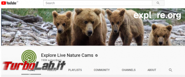 Sì viaggiare, almeno fantasia Webcam (live) giro mondo - ExploreOrgYouTube
