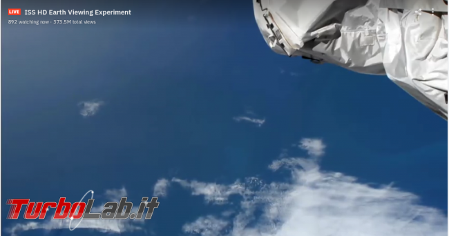 Sì viaggiare, almeno fantasia Webcam (live) giro mondo - ISS_Screenshot from 2021-01-06 18-07-45