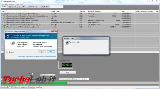 Silent Install Helper installa automaticamente (quasi) tutti programmi