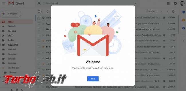 Simplify interfaccia Gmail diventa minimal - Annotazione 2019-04-26 093737