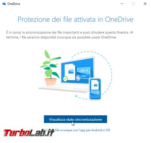 Sincronizzare cartelle Desktop, Immagini Documenti OneDrive Windows 10: guida Protezione file