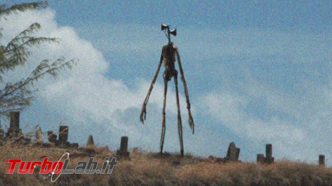Siren Head: mostro impazza web