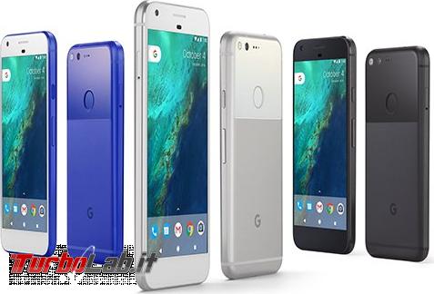 Sono arrivati nuovi Nexus! Google presenta Pixel Pixel XL