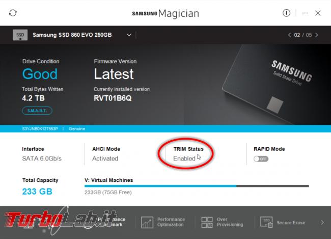 SSD: come attivare TRIM controllare TRIM sia attivo Windows 10