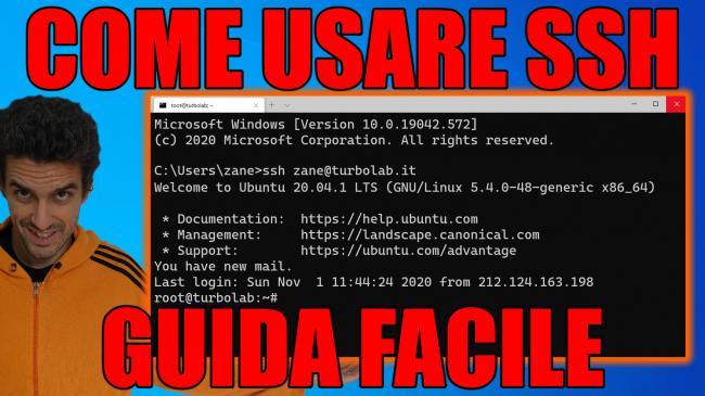 SSH Windows, Linux, Mac: Guida Definitiva - Come accedere VPS, server cloud AWS/Azure server aziendale facilità - guida ssh spotlight