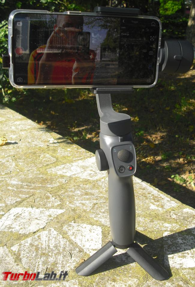 Stabilizzatore smartphone Funsnap Capture 2: recensione, video-prova, impressioni d'uso (gimbal)