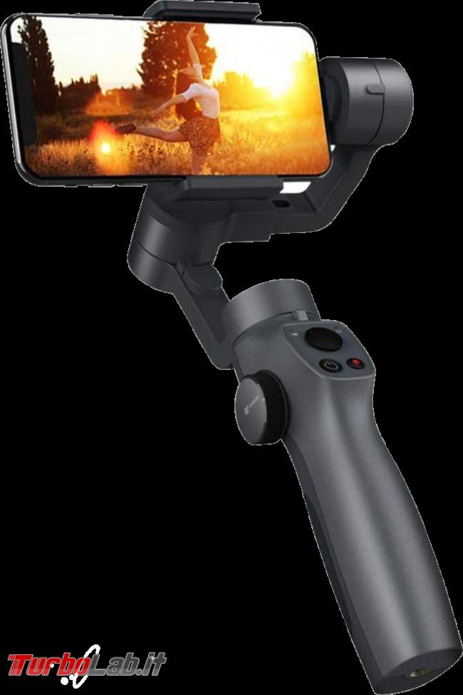 Stabilizzatore smartphone Funsnap Capture 2: recensione, video-prova, impressioni d'uso (gimbal) - funsnap capture 2 transparent