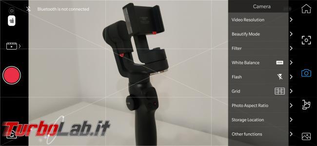 Stabilizzatore smartphone Funsnap Capture 2: recensione, video-prova, impressioni d'uso (gimbal) - Screenshot_20191026-180954