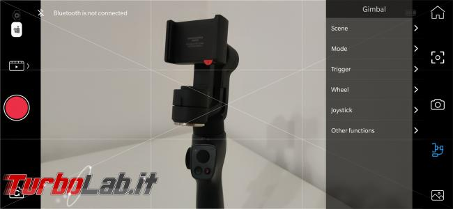Stabilizzatore smartphone Funsnap Capture 2: recensione, video-prova, impressioni d'uso (gimbal) - Screenshot_20191026-181206