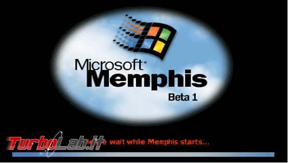 storia Windows, anni 1998 1999: Windows 98 Windows 98 Second Edition - Microsoft_memphis_avvio