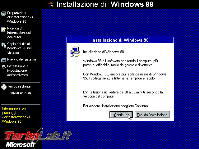 storia Windows, anni 1998 1999: Windows 98 Windows 98 Second Edition - VirtualBox_Windows 98_07_10_2017_14_29_19