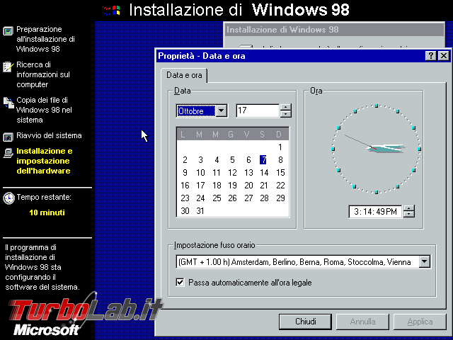 storia Windows, anni 1998 1999: Windows 98 Windows 98 Second Edition - VirtualBox_Windows 98_07_10_2017_15_39_12