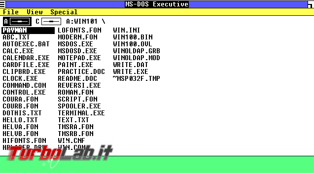 storia Windows, anno 1985: Windows 1.0
