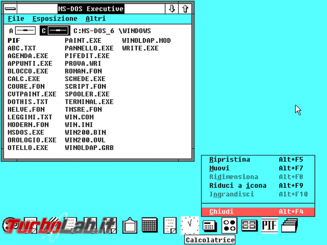 storia Windows, anno 1987: Windows 2.0