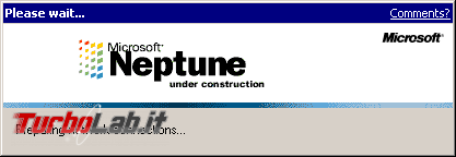 storia Windows, anno 1999: Windows Neptune - VirtualBox_Neptune_13_10_2017_17_08_00