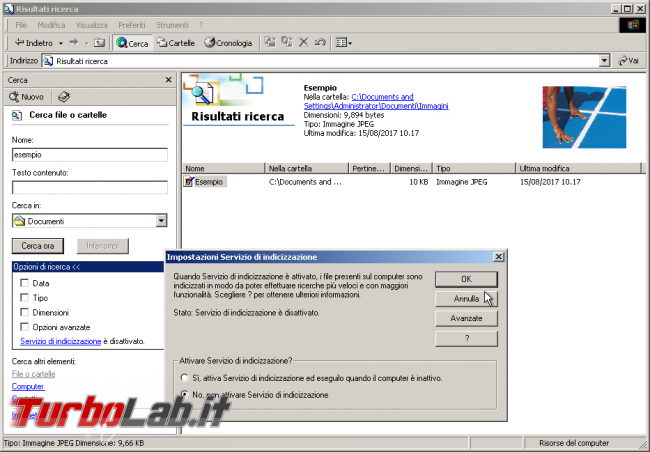 storia Windows, anno 2000: Windows 2000 - windows 2000 cerca