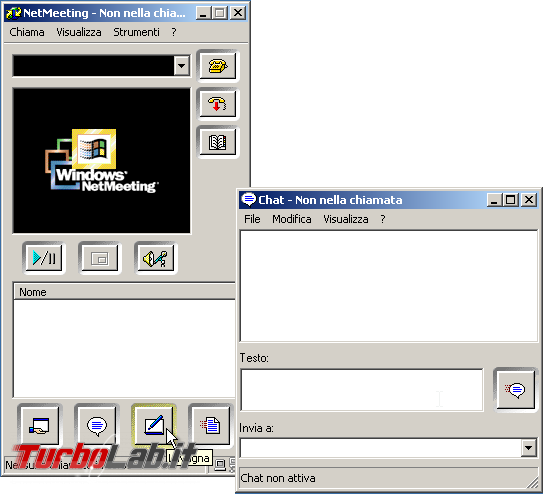 storia Windows, anno 2000: Windows 2000 - windows 2000 netmeeting