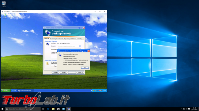 storia Windows, anno 2001: Windows XP - windows 10 desktop remoto windows xp