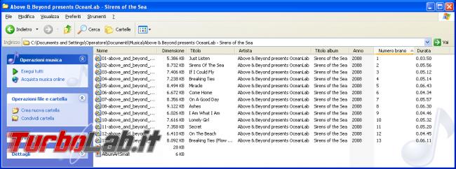 storia Windows, anno 2001: Windows XP - windows xp explorer mp3 metadata