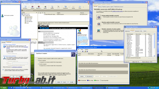 storia Windows, anno 2001: Windows XP - windows xp programmi