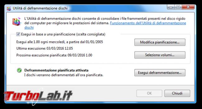 storia Windows, anno 2006: Windows Vista - Utilità di deframmentazione dischi