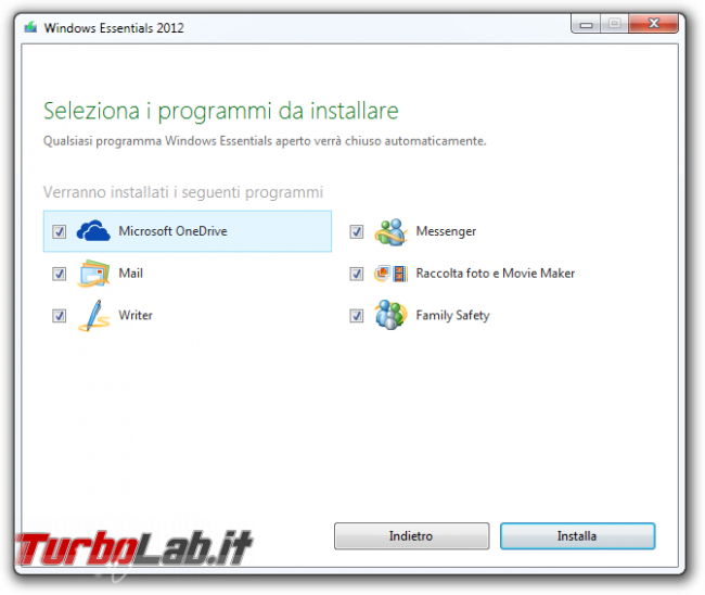 storia Windows, anno 2009: Windows 7 - Windows Essentials 2012