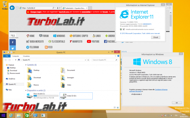 storia Windows, anno 2013: Windows 8.1 - Windows 8.1 desktop