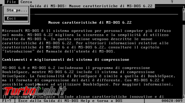 storia Windows, origini: MS-DOS - VirtualBox_MS-DOS_14_01_2018_07_59_15