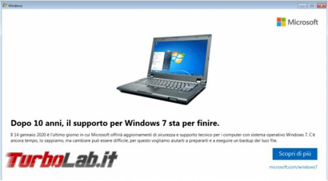 Supporto Windows 7 terminato: come continuare usare meglio Windows 7 ora è andato pensione