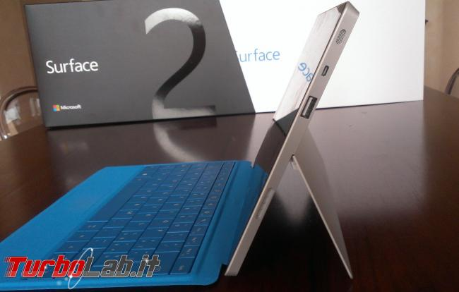 Surface 2: tablet Microsoft convince, perde sfida Android iPad (recensione prova completa)
