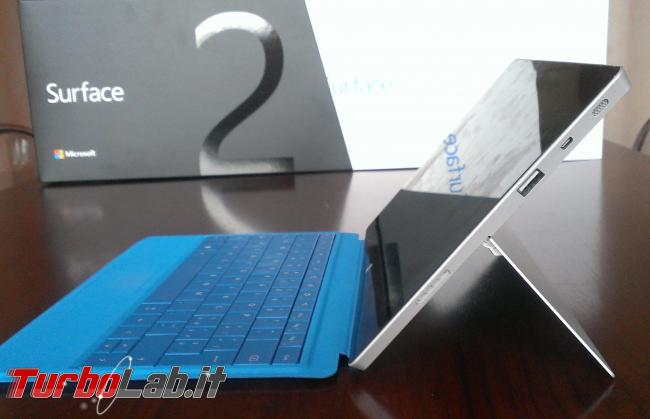 Surface 2: tablet Microsoft convince, perde sfida Android iPad (recensione prova completa)