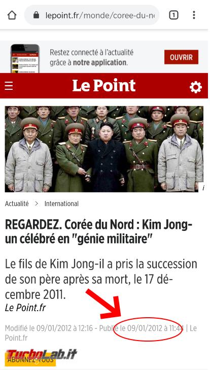 Svelato giallo foto Kim Jong : è 'immagine vecchia ritoccata - FrShot_1588749625