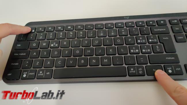 Tastiera Logitech MX Keys: come usare tasti funzione F1-F12 senza Fn ( Linux/Ubuntu) - IMG_20200606_193022