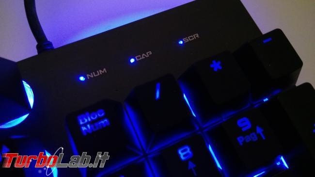 tastiera quasi-meccanica RGB gaming 28 €: recensione Reccazr HS760 (video) - IMG_20190126_191341
