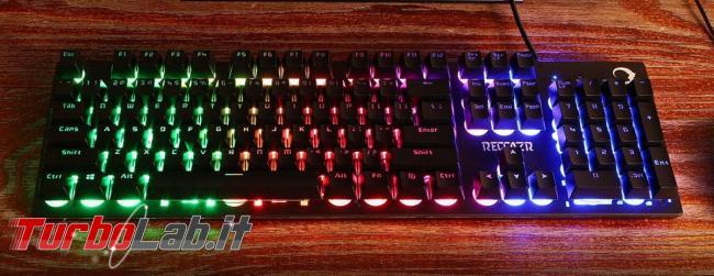 tastiera quasi-meccanica RGB gaming 28 €: recensione Reccazr HS760 (video) - Reccazr HS760 (3)