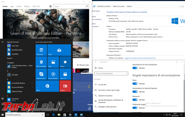 TLI risponde: cosa succede se non attivo Windows 10? Quali conseguenze? Quali funzionalità vengono disattivate?