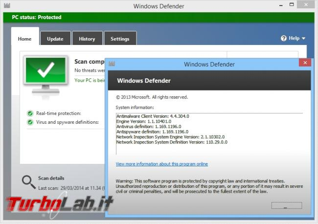 TLI risponde: devo veramente installare anti-virus PC oppure basta Windows Defender?