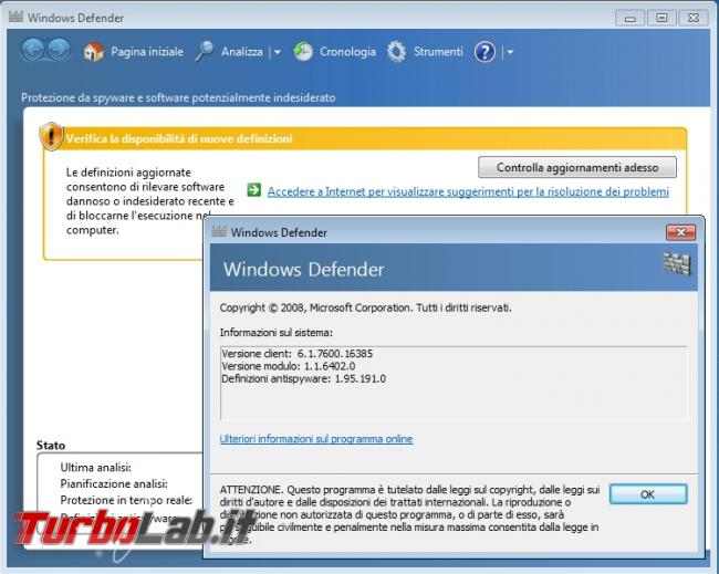 TLI risponde: devo veramente installare antivirus PC Windows 10 oppure basta Windows Defender? - windows_defender_adware
