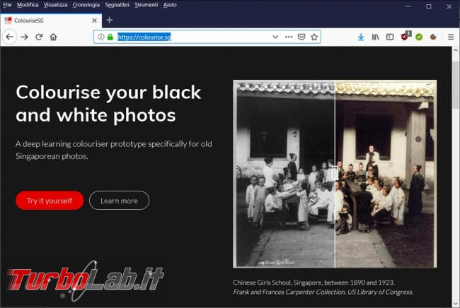 tocco colore vecchie foto bianco nero