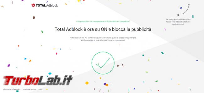 Total Adblock, l'estensione browser contro pubblicità, non installare mai