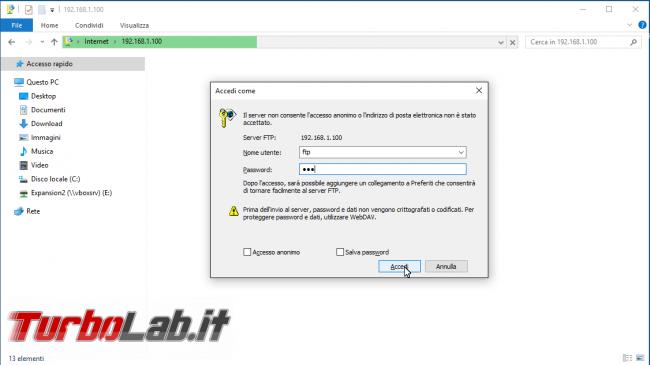 Trasferisci facilmente file Android computer (Windows, Linux, MacOS) FTP Server