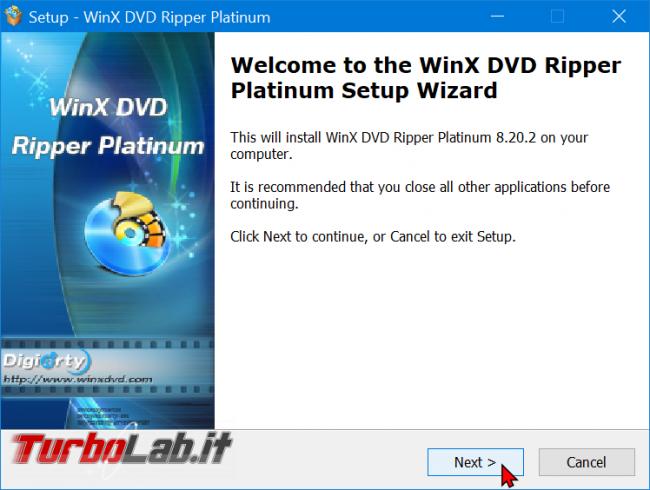 Trasformare film DVD file MP4 PC, smartphone, tablet: guida rip WinX DVD Ripper (conversione DVD MP4, H.264, AAC) - zShotVM_1589833469