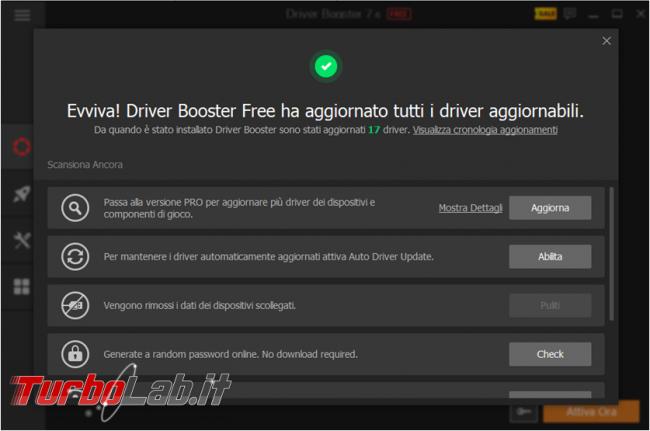 Trovare aggiornare driver PC Windows: guida Driver Booster Free