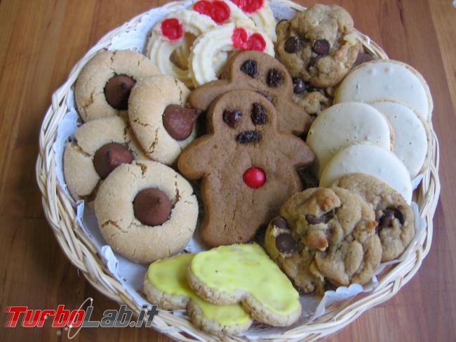 Tutela privacy: guida impedire tracciamento parte siti Web - Christmas_Cookies_Plateful