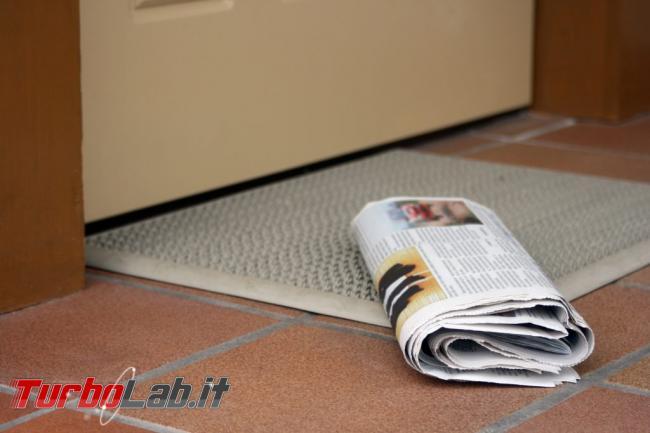 Ubik: intuizioni futuristiche Philip K. Dick - Newspaper-Doorstep-1024x683