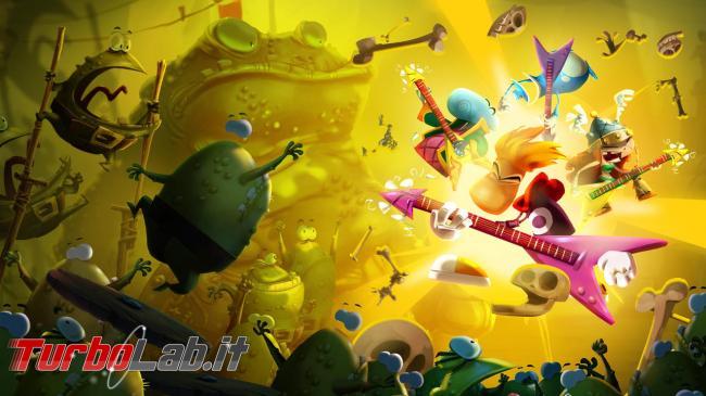 Ubisoft: Rayman Legends altri videogiochi gratis mese - rayman-legends-img01